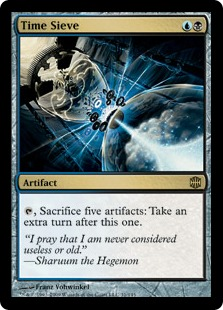 Modern Thopter-Sword: Infinite Turns Wins Games
