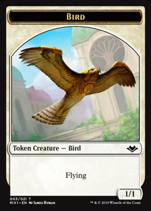 bird  extras modern horizons foil  3  deckbox