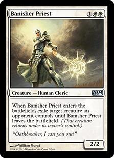 Banisher Priest - Creature - Magic 2014 Core Set #7