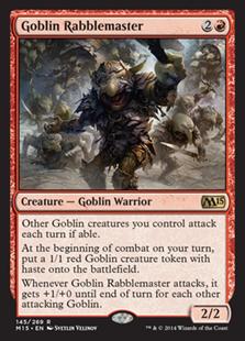 Goblin Rabblemaster - Creature - Magic 2015 Core Set #145