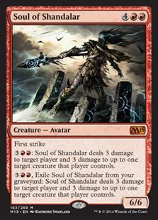 Soul of Shandalar - Creature - Magic 2015 Core Set #163