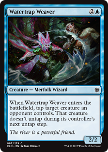 Watertrap Weaver - Foil - Creature / Ixalan #87