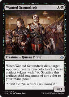 Wanted Scoundrels - Creature - Ixalan #131