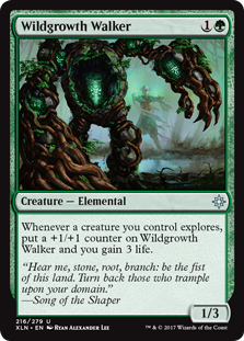 Wildgrowth Walker - Foil - Creature / Ixalan #216