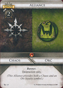 Chaos/Orc Alliance