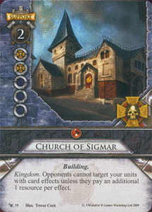 [Carte] Église de Sigmar / Church of Sigmar - Édition de Base # 039 1-39
