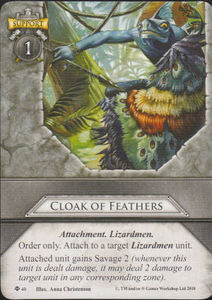 Cloak of Feathers