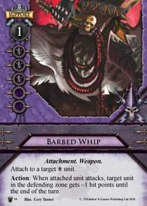 Barbed Whip