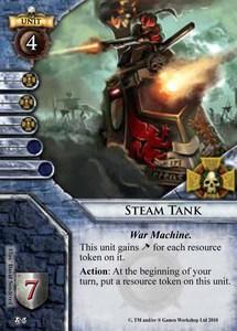 warhammer how to kill steam tank