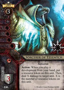 Sorcerer of Tzeentch