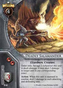 Deadly Salamander
