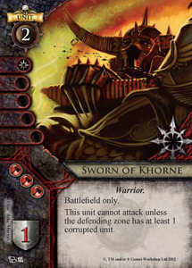Sworn of Khorne