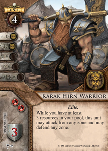 Karak Hirn Warrior