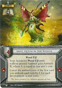 Ariel. Queen in the Woods