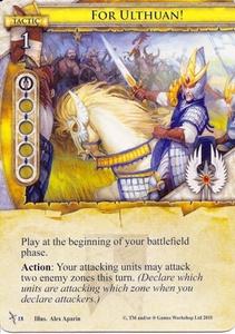 [Carte] Pour Ulthuan ! / For Ulthuan! - Assaut sur Ulthuan # 18 6-18