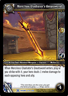 Merciless Gladiator's Greatsword