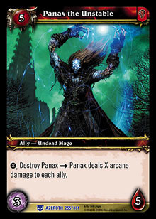Panax the Unstable