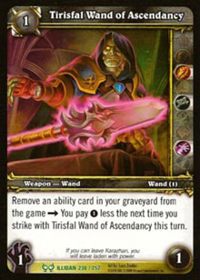 Tirisfal Wand of Ascendancy