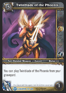 Twinblade of the Phoenix