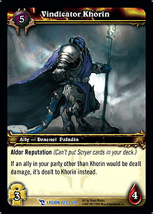 Vindicator Khorin