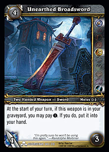 Unearthed Broadsword
