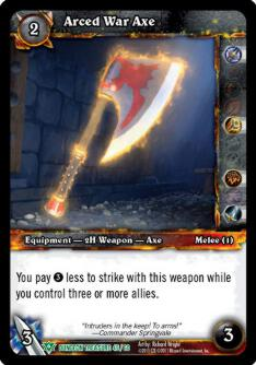 Arced War Axe